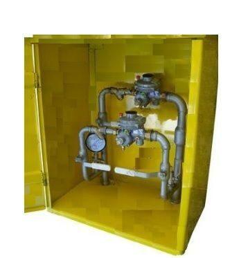 Пункт газораспределительный ДРП-4, ДРП-4С с регуляторами 2FE-10, 2FE-25, 2FE-50
